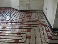 Podlahové topení svépomocí - instalace zákazník Kroměříž