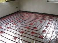Podlahové topení svépomocí - instalace zákazník Vysoké Mýto