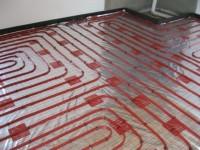 Podlahové topení svépomocí - instalace zákazník Semily