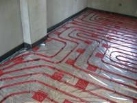 Podlahové topení svépomocí - instalace zákazník Dobříš