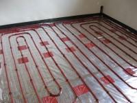 Podlahové topení svépomocí - instalace zákazník Vizovice