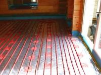 Podlahové topení svépomocí - instalace zákazník Jáchymov