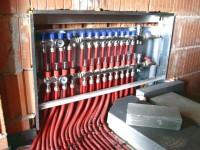Podlahové topení svépomocí - instalace zákazník Kunratice