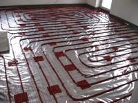 Podlahové topení svépomocí - instalace zákazník Nová Bystřice