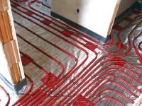 Podlahové topení svépomocí - instalace zákazník Kralovice
