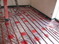 Podlahové topení svépomocí - instalace zákazník Nové Město na Moravě