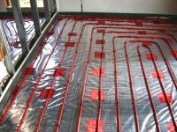 Podlahové topení svépomocí - instalace zákazník Letovice
