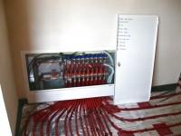 Podlahové topení svépomocí - instalace zákazník Starý Jičín
