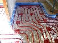Podlahové topení svépomocí - instalace zákazník Valašské Meziříčí