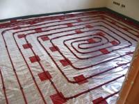 Podlahové topení svépomocí - instalace zákazník Kružberk
