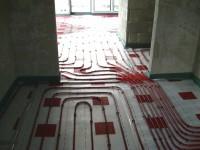 Podlahové topení svépomocí - instalace zákazník Průhonice