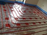 Podlahové topení svépomocí - instalace zákazník Kladruby