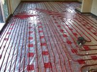 Podlahové topení svépomocí - instalace zákazník Rychnov nad Kněžnou