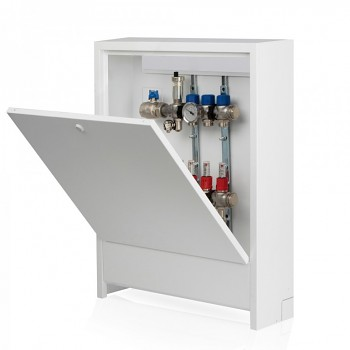 Skříň rozdělovače nástěnná N2 530 pro podlahové topení