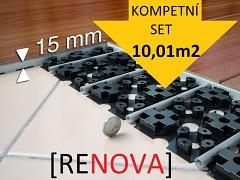 RENOVA - kompletní renovační SET 10,01m2