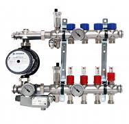 Rozdělovač ENGINE POWER - NEREZ 4 okruhy