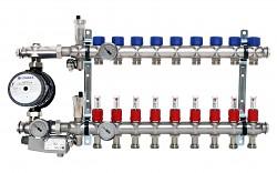 Rozdělovač ENGINE POWER - NEREZ 9 okruhů