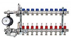 Rozdělovač ENGINE POWER - NEREZ 10 okruhů