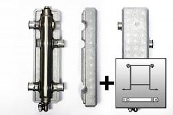 KOMPLET Anuloid HVDT Hydraulický vyrovnávač tlaků - S izolací a konzolí