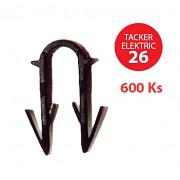 Příchytka TACKER ELEKTRIC 26 pro podlahové topení 600 ks