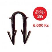 Příchytka TACKER ELEKTRIC 26 pro podlahové topení 6000 ks