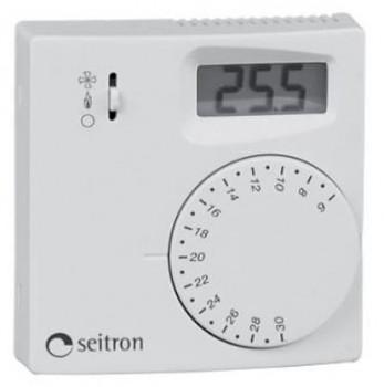 IVAR.TAED - Prostorový termostat s kolečkem a displejem (regulátor vnitřní teploty)