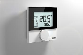 Prostorový termostat REHAU Nea Smart R D - Pokojový termostat (podlahové topení) - bezdrátová verze