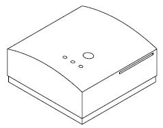 Zesilovač Nea Smart R (podlahové topení) - bezdtrátová verze