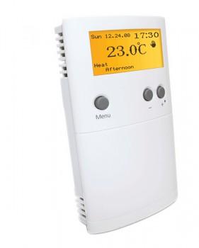 Termostat bezdrátový týdenní programovatelný s podsvíceným LCD displejem