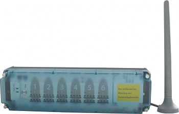 Svorkovnice bezdrátová ústřední podlahového topení, 230V, 2,4 GHz