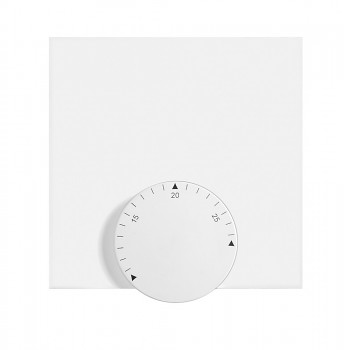 Analogový bezdrátový pokojový termostat ALPHA 2 pro regulaci podlahového topení