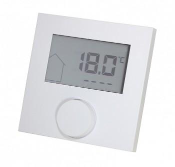 Digitální pokojový termostat Alpha DIRECT CONTROL s LCD displejem pro regulaci podlahového topení 230V