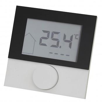 Digitální pokojový termostat Alpha DIRECT STANDARD s LCD displejem pro regulaci podlahového topení 230V s design rámečkem