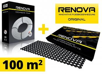 SET 100m2 RENOVA ORIGINAL podlahové topení