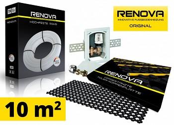 SET KOMPLET 10m2 RENOVA ORIGINAL podlahové topení + 1x omezovač